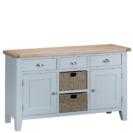 Toulouse Grey Large Sideboard